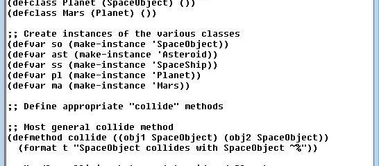 Multimethods in Lisp