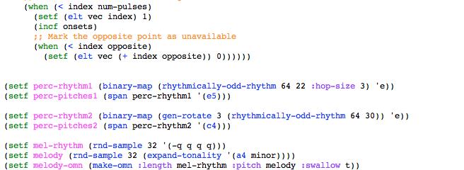 Rhythmically Odd Rhythms