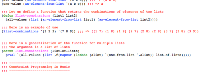 Constraint Programming Using Screamer