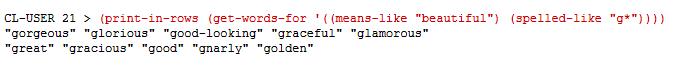 Combining Parameters